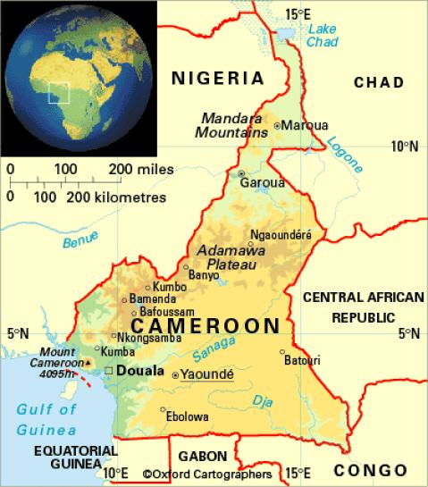 africa-tanzania-a-janosch - CAMEROON: DOUALA I BAMENDA on